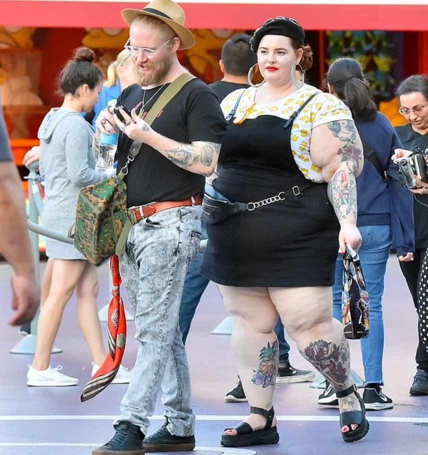 Tess Holliday Husbend HD picture