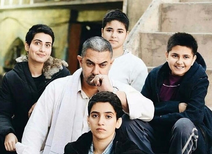 Aamir Khan Family picture