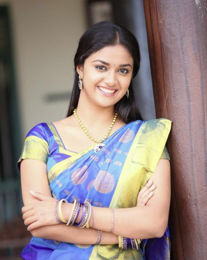 Keerthy Suresh HD Sharee Picture