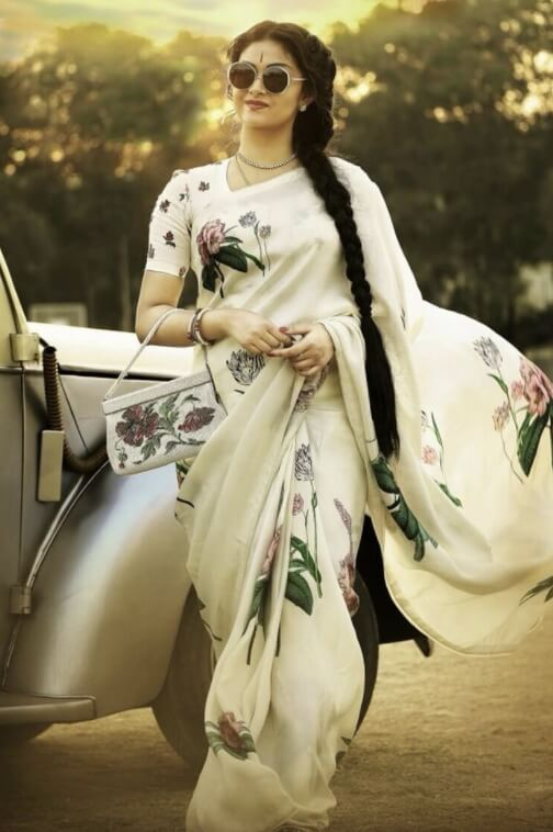 Keerthy Suresh Sharee picture